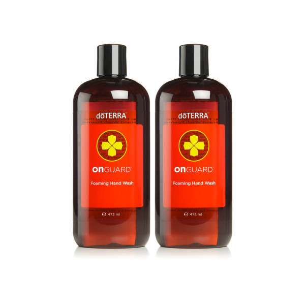 doTERRA OnGuard Foaming Hand Wash Kit (Handseife Set) - 2x 473ml